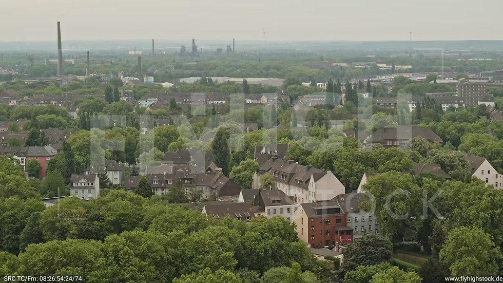 Duisburg Volkspark Schwelgern Zuflug nach unten G010_C002
