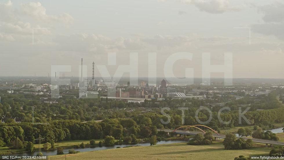 Duisburg Städtedreieck Parallelflug G016_C022