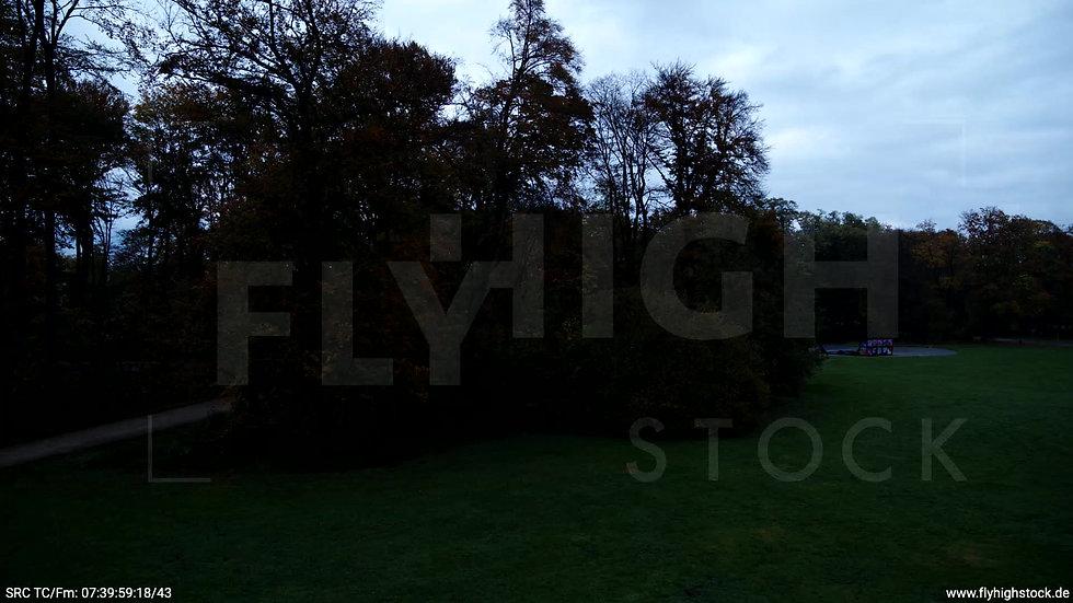 Köln Stadtwald Skyline Hub morgens C020_C016