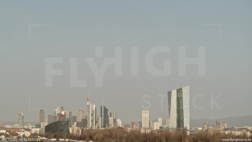 Frankfurt Oberrad Hub Skyline tagsüber 4