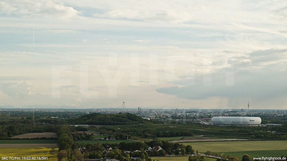 München Allianz Arena Skyline Hub tagsüber 2