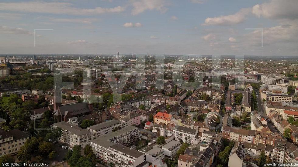 Köln Humboldt-Gremberg Zuflug nach unten C041_C003