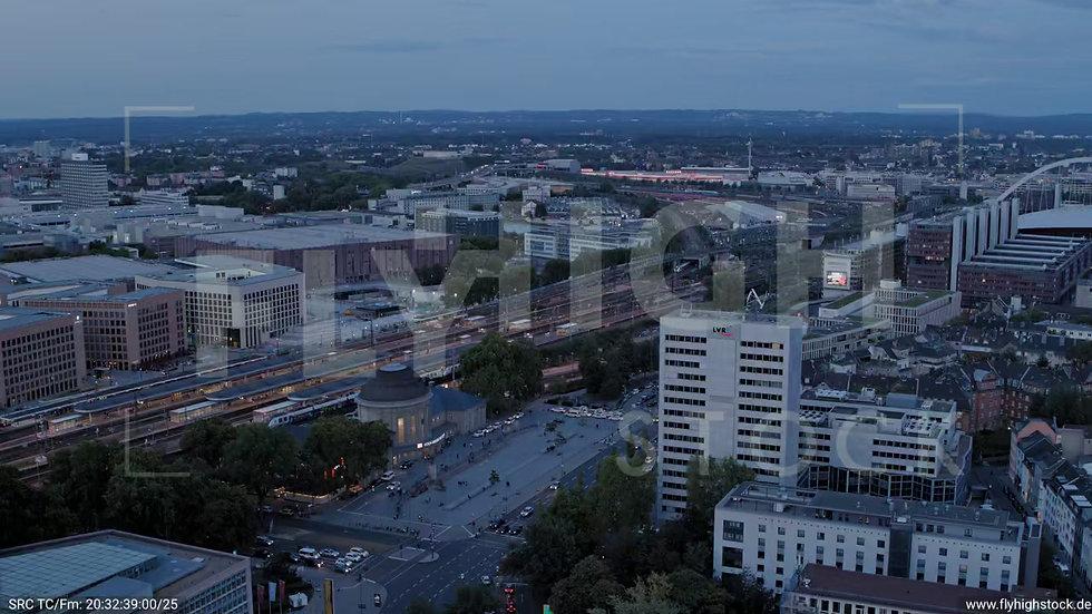 Köln LVR Zuflug nach unten C036_C021