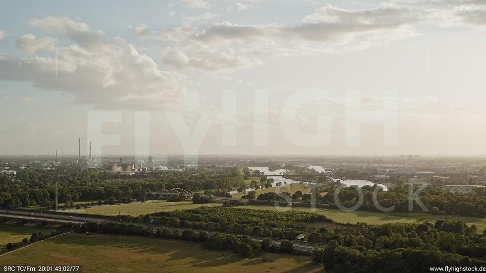 Duisburg Städtedreieck Zuflug G016_C010