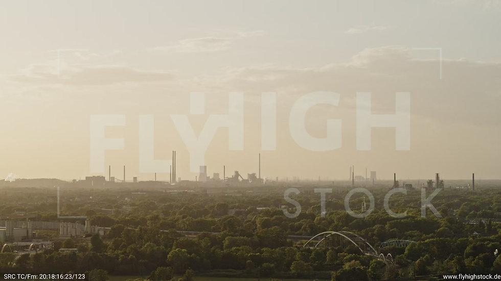 Duisburg Städtedreieck Parallelflug G016_C018