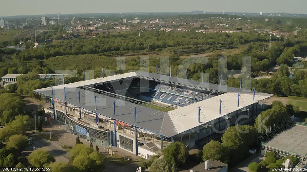 Duisburg Schauinsland Reisen Arena Zuflug nach unten G004_C001