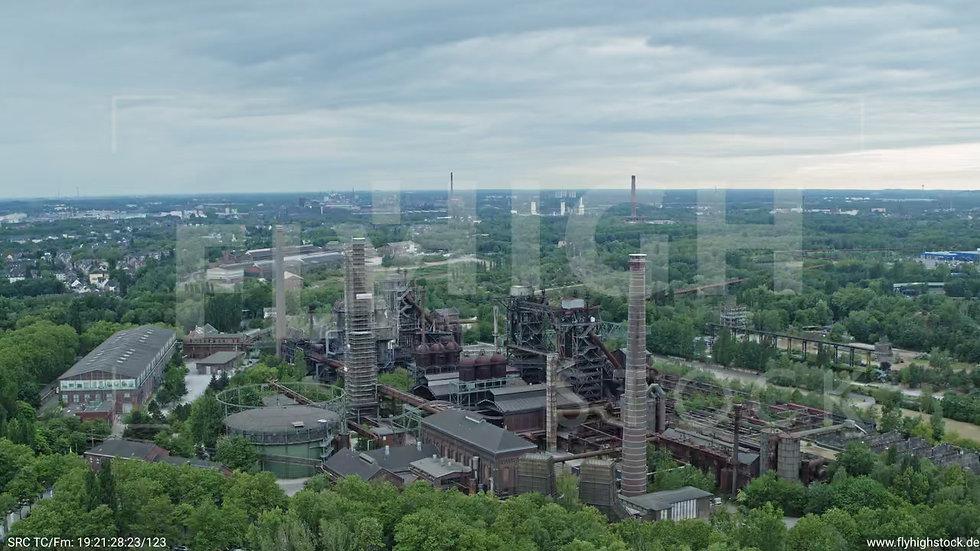 Duisburg Landschaftspark Duisburg-Nord Zuflug nach unten G011_C007