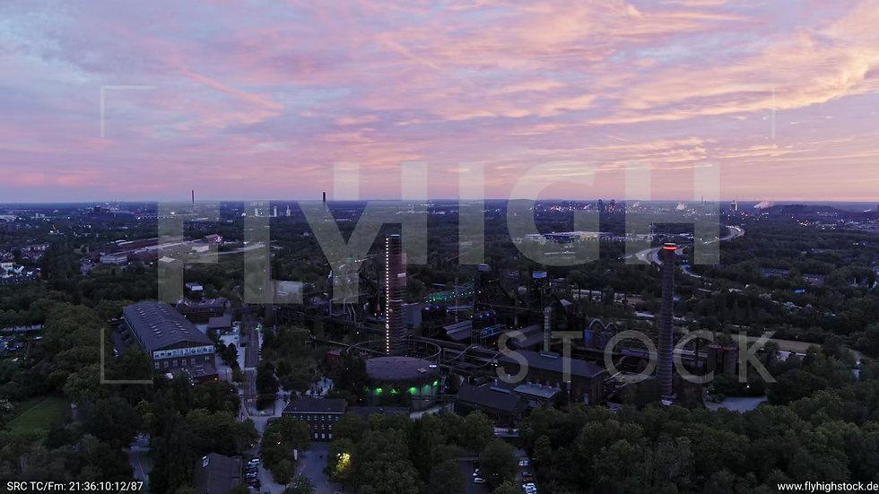 Duisburg Landschaftspark Duisburg-Nord Parallelflug G013_C011