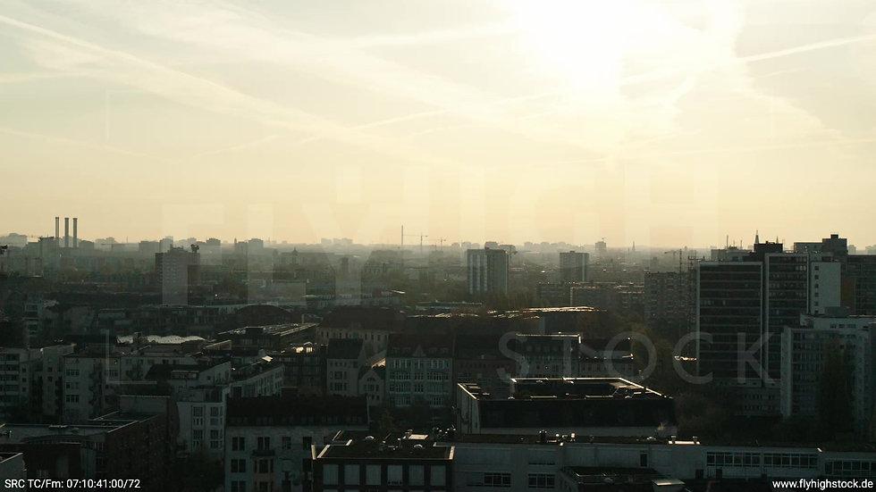 Berlin Hallesches Ufer Skyline Hub morgens 6