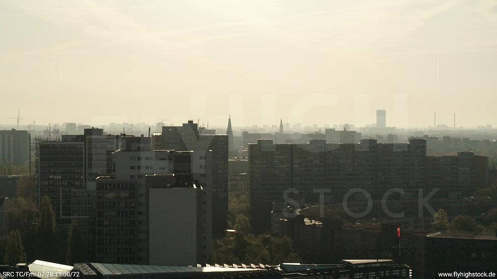 Berlin Hallesches Ufer Skyline Hub morgens 8