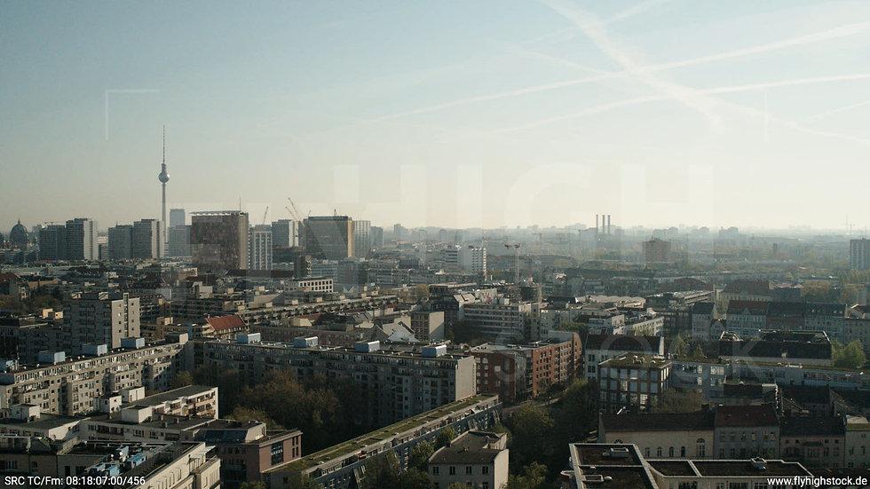 Berlin Hallesches Ufer Ost Skyline Hub tagsüber