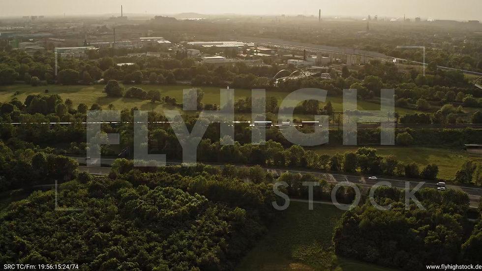 Duisburg Städtedreieck Parallelflug G016_C004