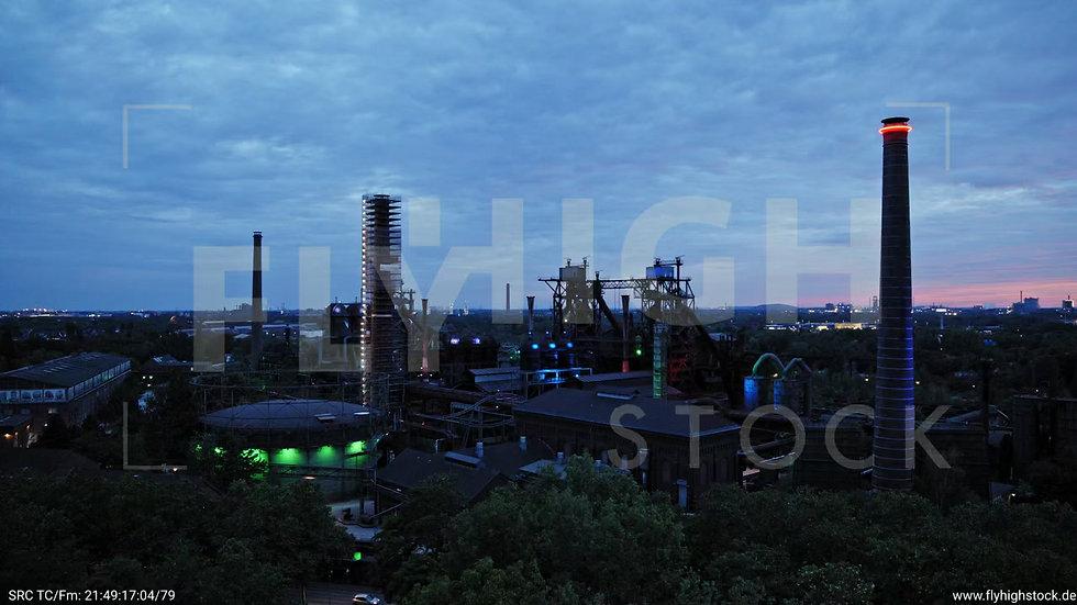Duisburg Landschaftspark Duisburg-Nord Parallelflug G014_C001