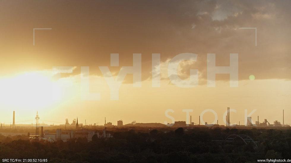 Duisburg Städtedreieck Parallelflug G017_C008