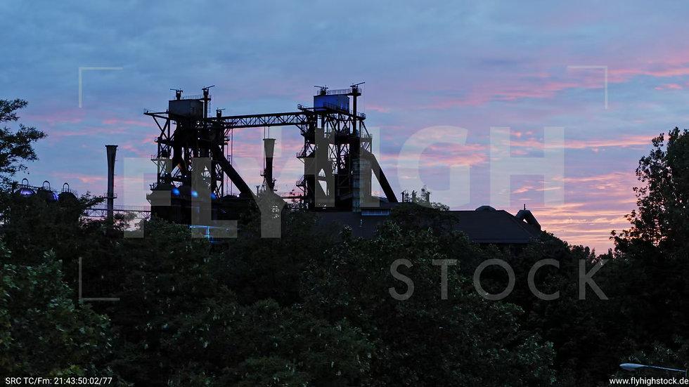 Duisburg Landschaftspark Duisburg-Nord Rückflug nach oben G013_C016