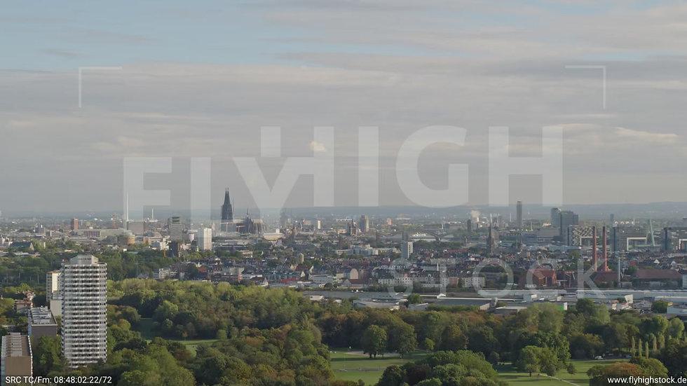Köln Raderthalgürtel Zuflug nach unten C033_C017