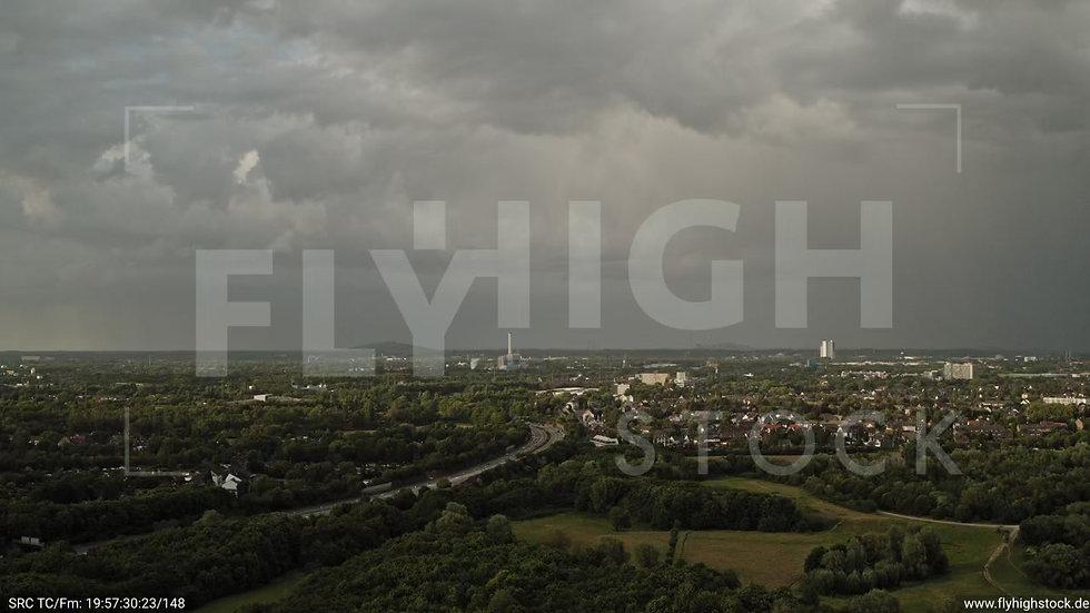 Duisburg Städtedreieck Zuflug nach unten G016_C005