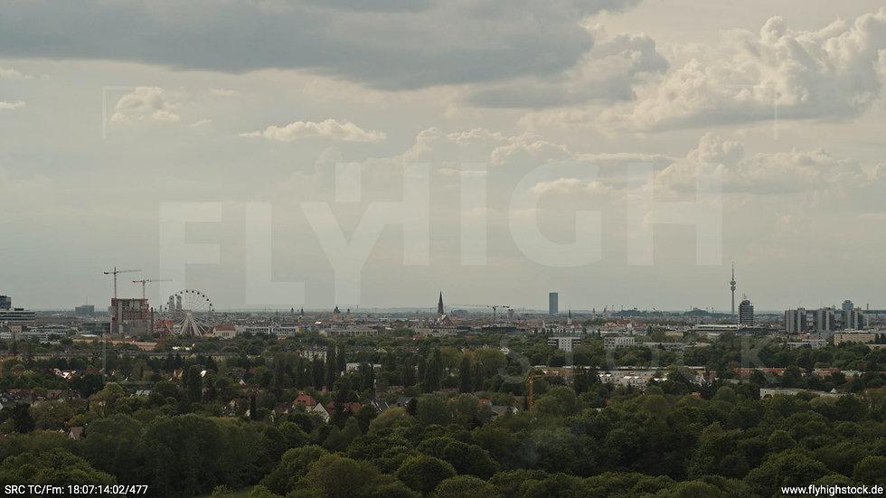 München Ostpark Skyline Hub tagsüber 3