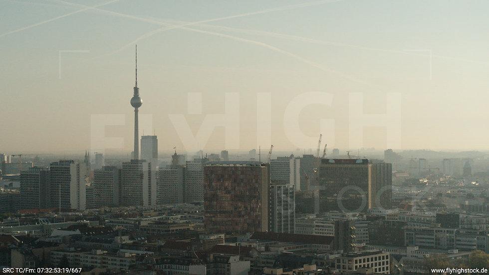 Berlin Hallesches Ufer Ost Skyline Hub morgens 3