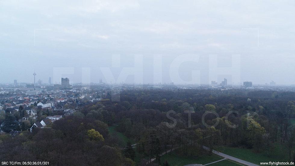 Köln Stadtwald Skyline Hub morgens 3