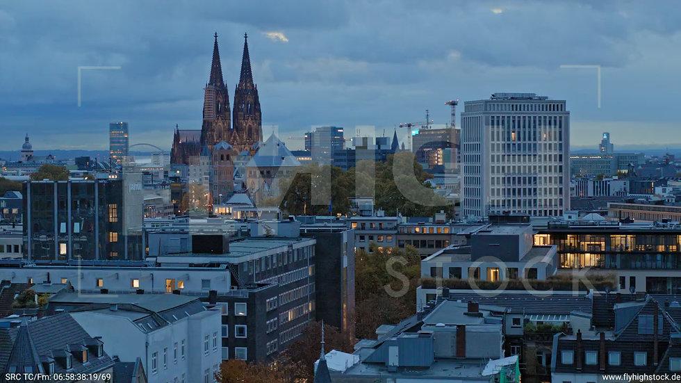 Köln Stadtgarten Parallelflug C082_C012