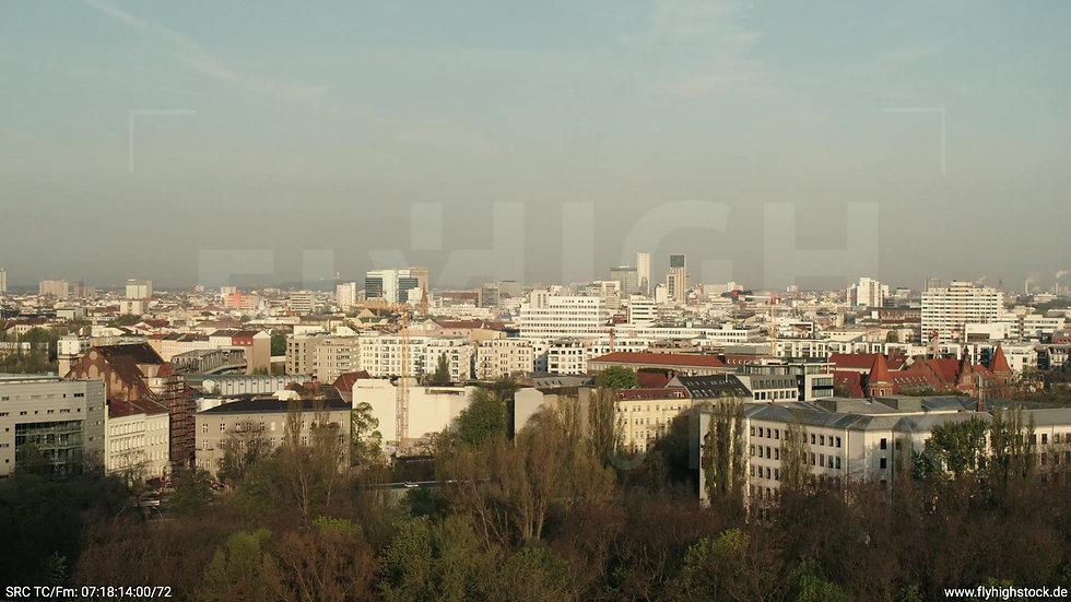 Berlin Hallesches Ufer West Skyline Hub morgens 2