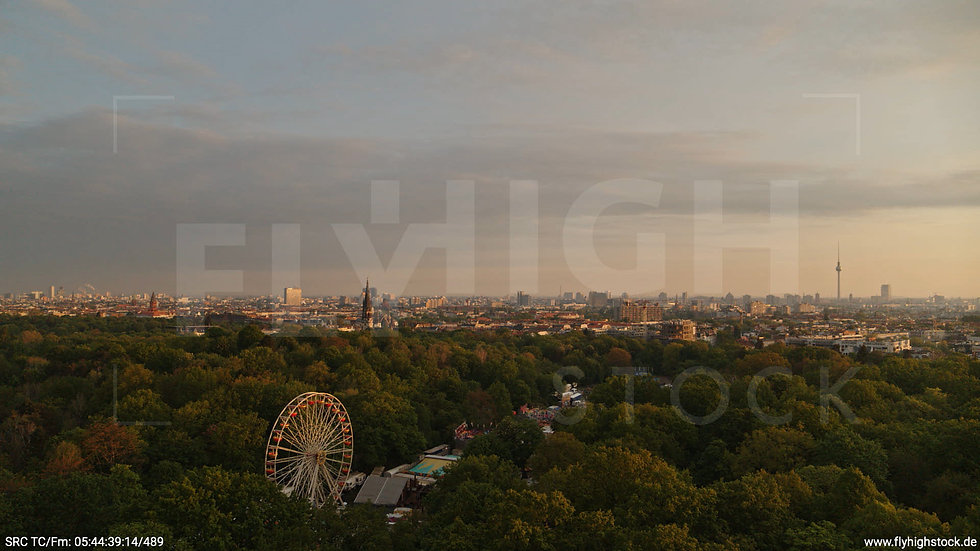Berlin Hasenheide Skyline Hub morgens 4