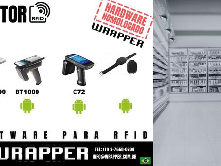 Coletor RFID para WrapperRFID