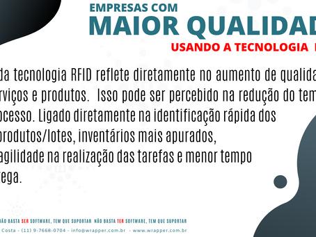 RFID GERA QUALIDADE PARA O NEGÓCIO