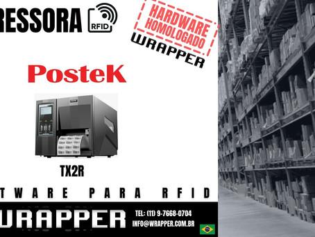 Impressora RFID para WrapperRFID