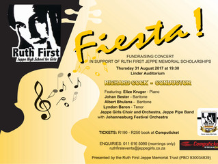 Ruth First Jeppe Fiesta coming soon!