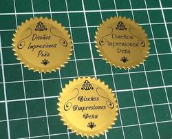 Stickers Dorado