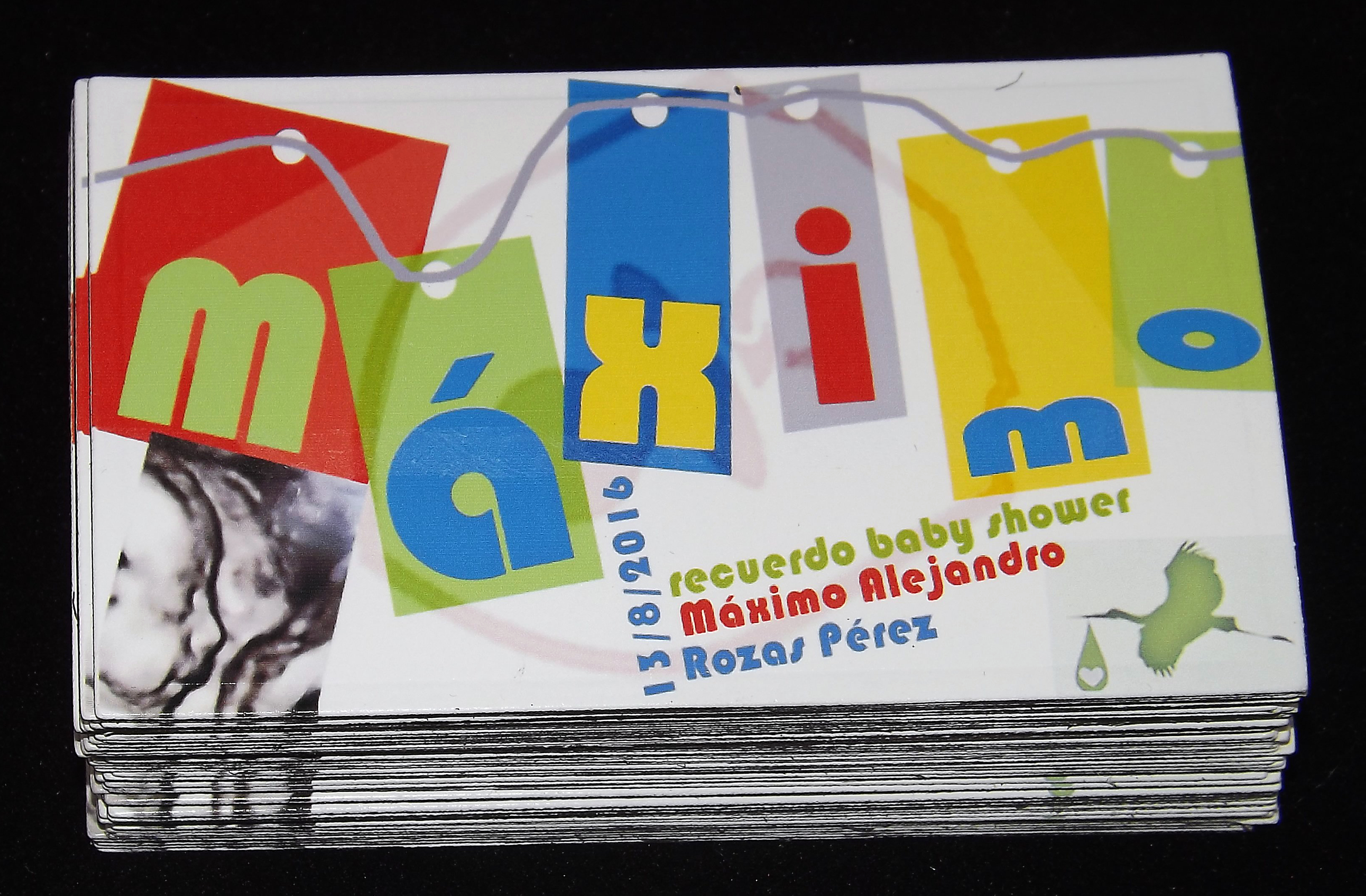 Magnéticos, recuerdos de Baby Shawer