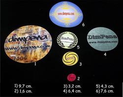Diseños para stickers y magnéticos