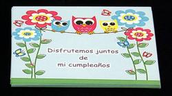 Tarjetas de invitación cumpleaños