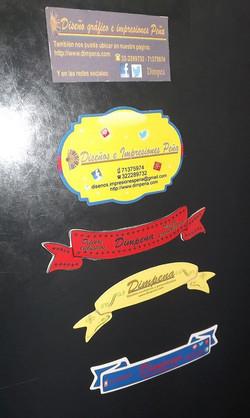 Diseños para stickers y magnèticos