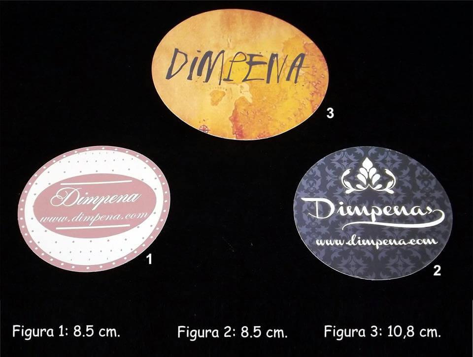 Tamaños para stickers y magnéticos