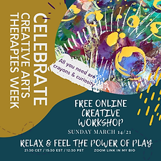 Celebrate creative Arts therapies week.p