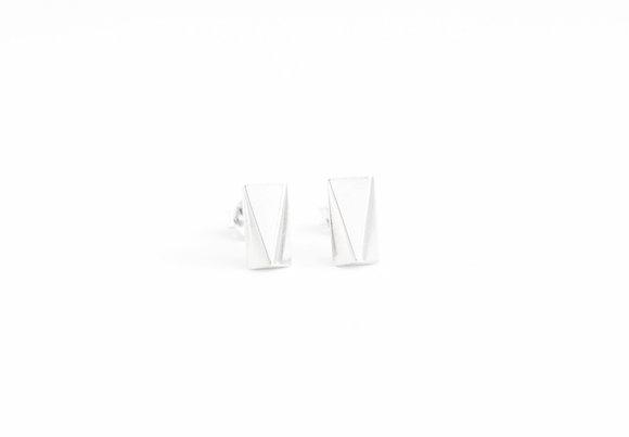 Rectangular Facet Earrings I