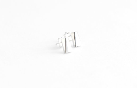 Rectangular Facet Earrings II