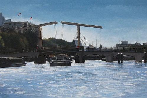 Puente movil (Amsterdam)