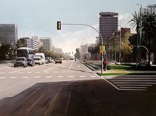 """Barcelona Diagonal"""" La Caixa """""""