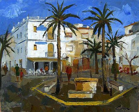Plaça d´Alcanar ( Tarragona )
