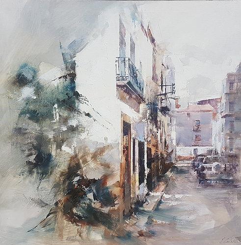 Calle con Blancos ( La Senia )