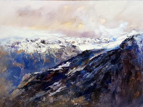Panoràmica dels Pirineus.