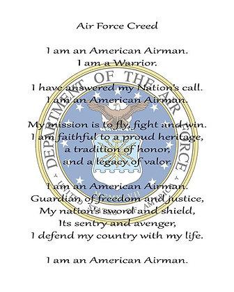 U.S. Air Force Creed