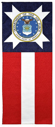Air Force Star Flag Banner Kit