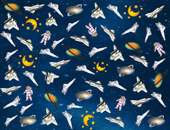 Space Cotton Fabric for Face Masks