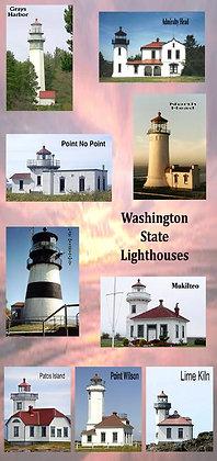 Washington Lighthouse Photo Panel