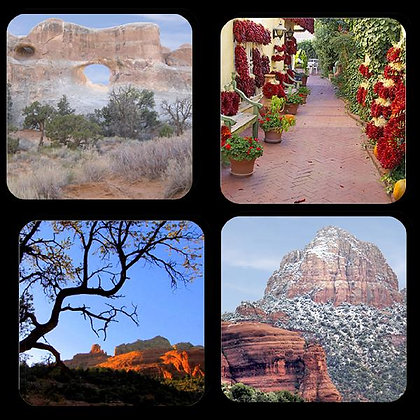 American Southwest Coaster Set of 4